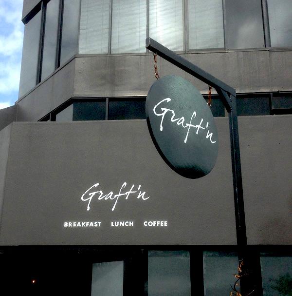 Graft N Cafe Signage Monster Print